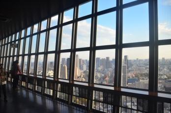 Utsikt från Tokyo Tower.