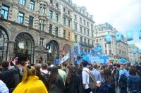 Paraden på Regent Street.