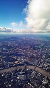 London från ovan.