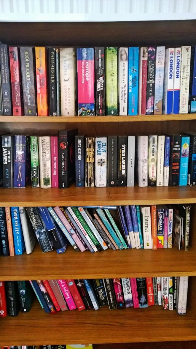Vår boksamling.